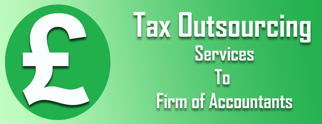 tax outsourcing services to UK firm of accountants