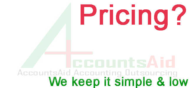 accounting outsourcing price - AccountsAid outsourcing pricing